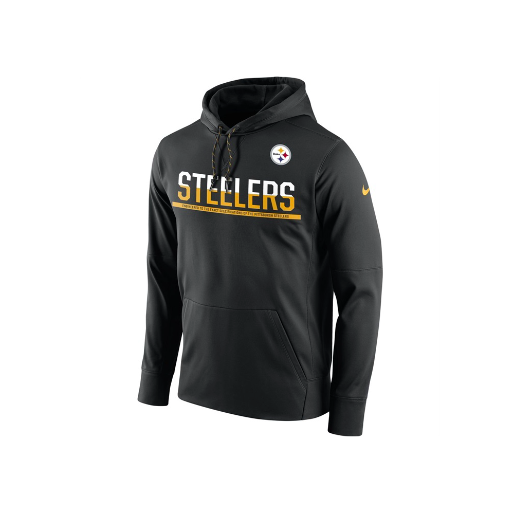 exquisite design official 2018 sneakers NFL Pittsburgh Steelers Sideline Circuit Pullover Performance Hoodie