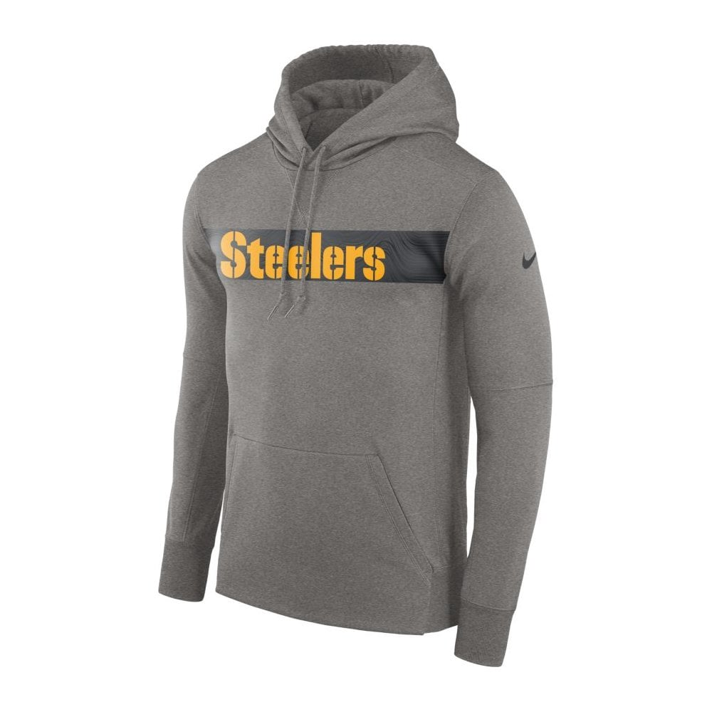 reputable site beb70 6ba9f NFL Pittsburgh Steelers Therma PO Hood