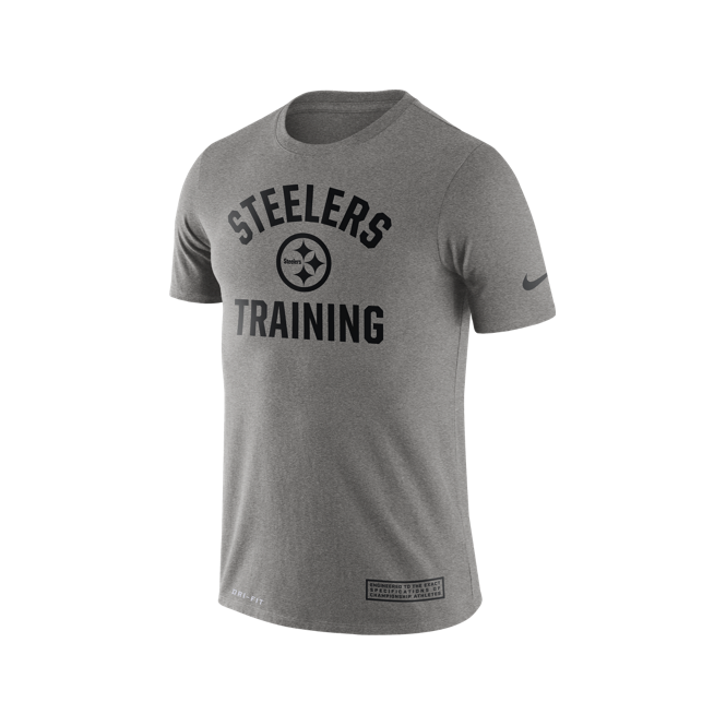 Nike NFL Pittsburgh Steelers Training Performance T-Shirt