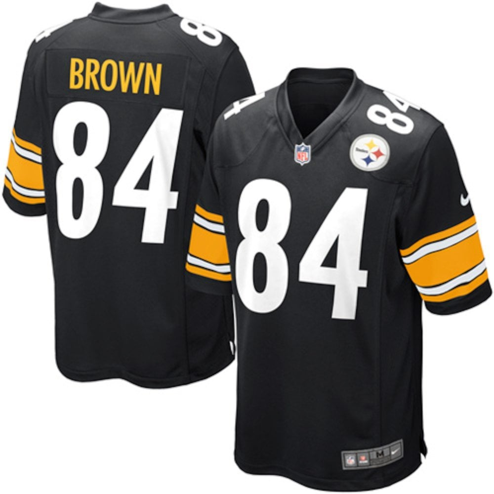 Nike NFL Pittsburgh Steelers Youth Home Game Jersey - Antonio Brown ... 3bffc0f2c