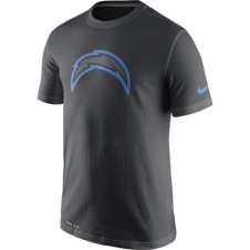 NFL San Diego Chargers Anthracite Travel T-Shirt