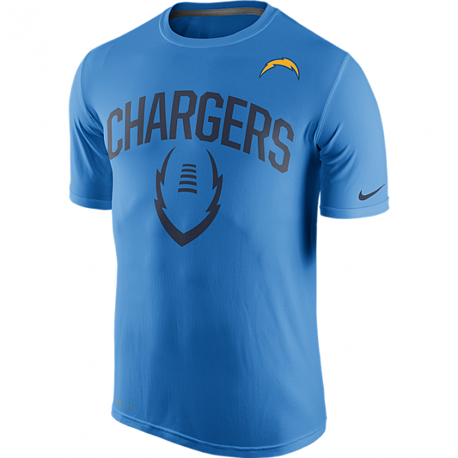 Nike NFL San Diego Chargers Legend Icon Dri-Fit T-Shirt