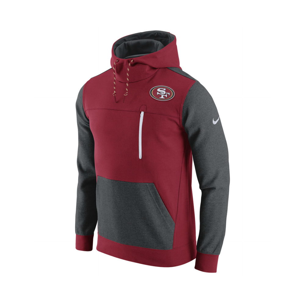 Nike NFL San Francisco 49ers AV15 Fleece Pullover Hoodie Teams  for sale