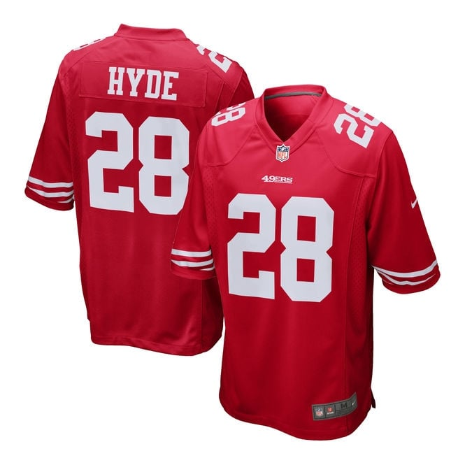 Nike NFL San Francisco 49ers Home Game Jersey - Carlos Hyde