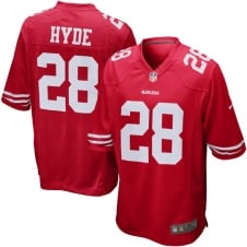 NFL San Francisco 49ers Home Game Jersey - Carlos Hyde