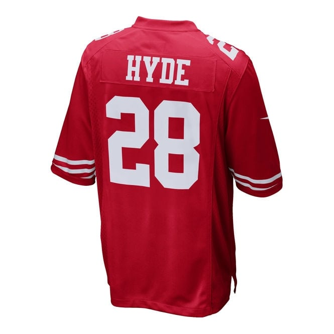 huge selection of 2d8f9 8a2d9 NFL San Francisco 49ers Home Game Jersey - Carlos Hyde
