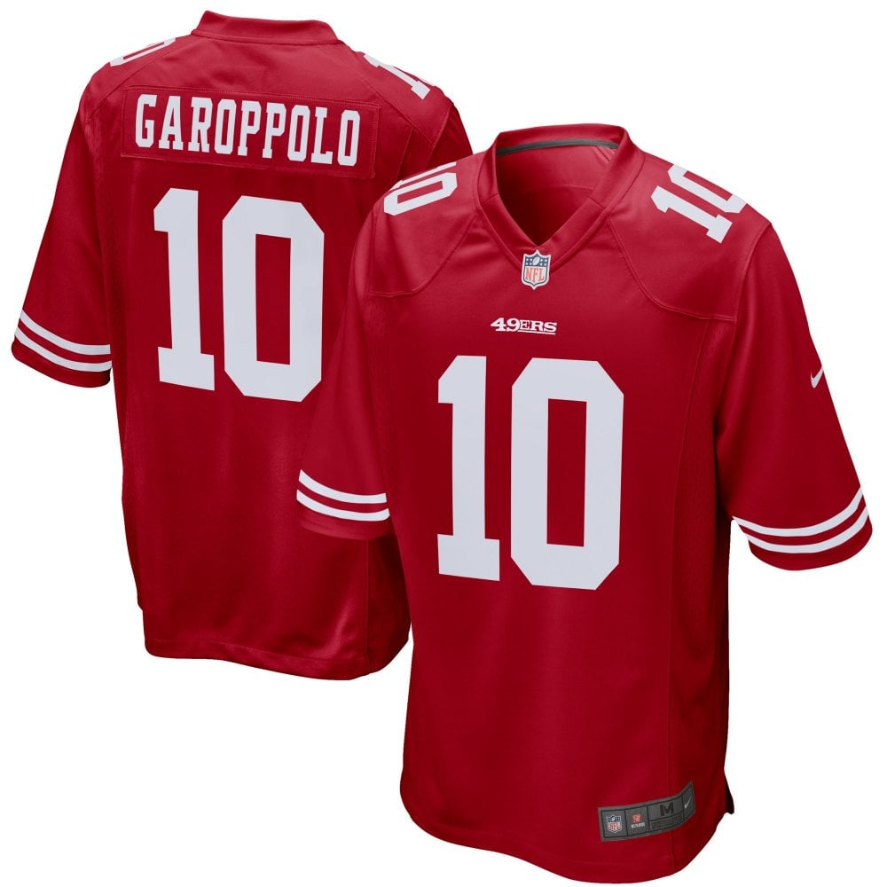40d7b264079 Nike NFL San Francisco 49ers Home Game Jersey - Jimmy Garoppolo ...