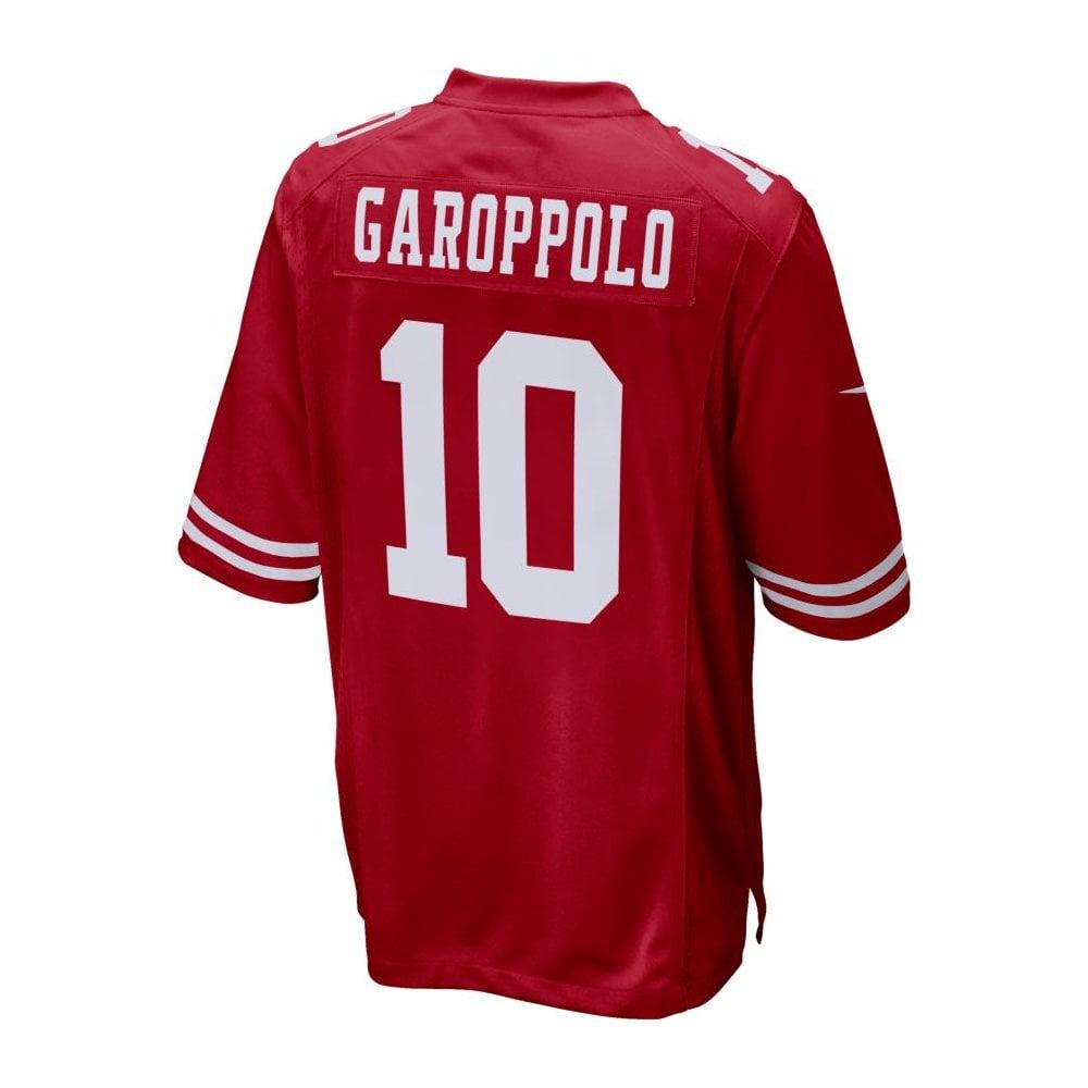 82ad31e4b Nike NFL San Francisco 49ers Home Game Jersey - Jimmy Garoppolo ...