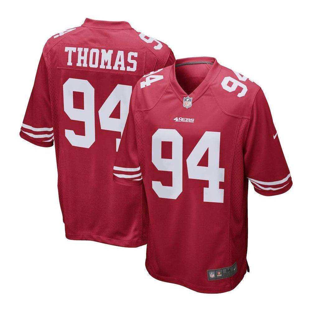 Nike NFL San Francisco 49ers Home Game Jersey - Solomon Thomas ... 617bfe9ab