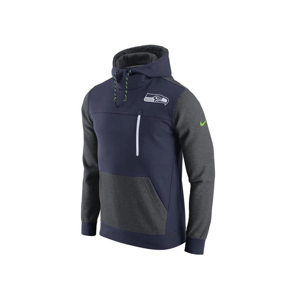 Nike NFL Seattle Seahawks AV15 Fleece Pullover Hoodie - Teams from ... 0b2bc4268