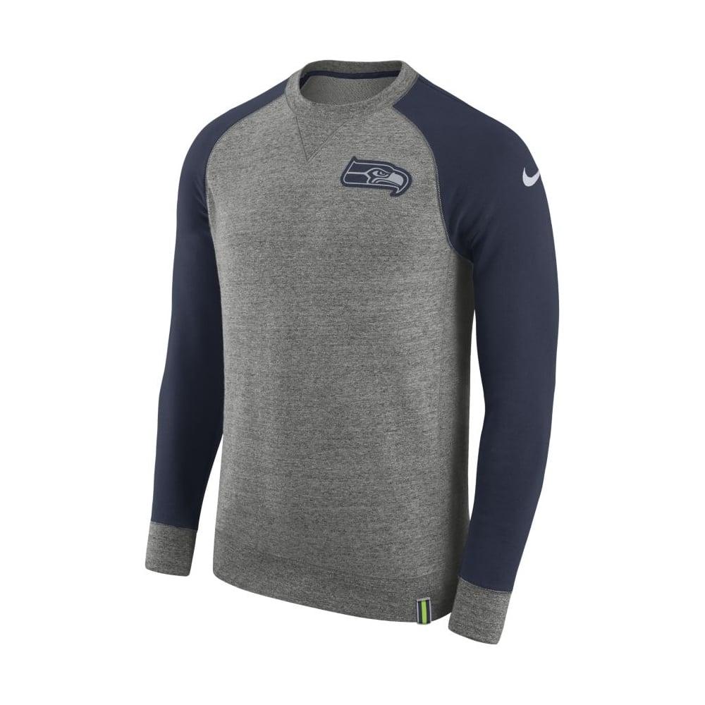 Nike NFL Seattle Seahawks AW77 Crew Sweatshirt - Teams from USA ... 6ca24a454