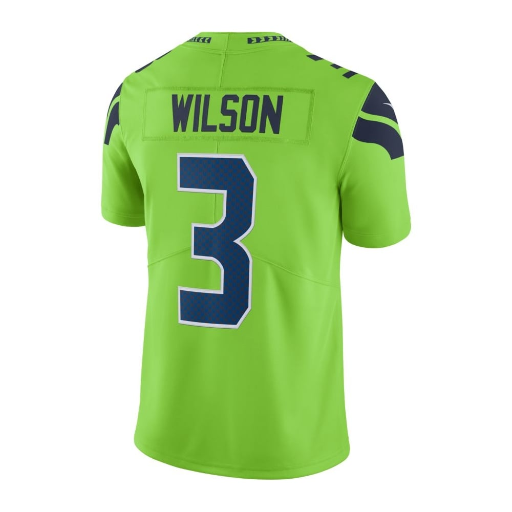 big sale 67872 6037f NFL Seattle Seahawks Color Rush Limited Game Jersey - Russell Wilson