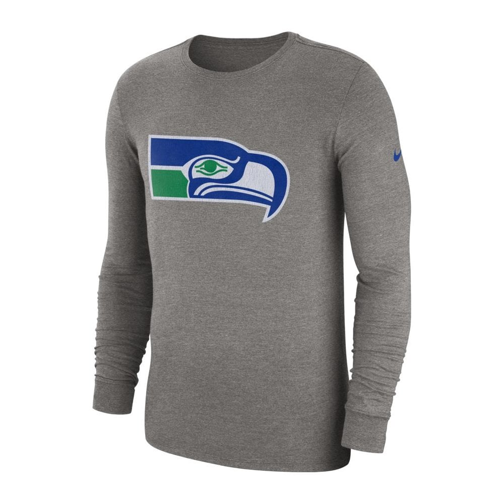 online store 5c33b 67f44 NFL Seattle Seahawks Crackle Historic Tri-Blend Long Sleeve T-Shirt