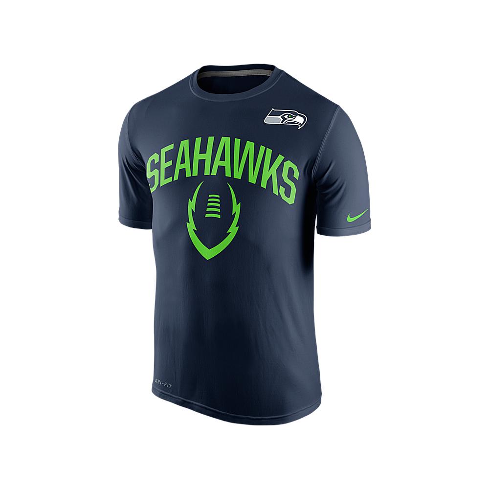Nike NFL Seattle Seahawks Legend Icon Dri-Fit T-Shirt - Teams from ... 2b443ea0e