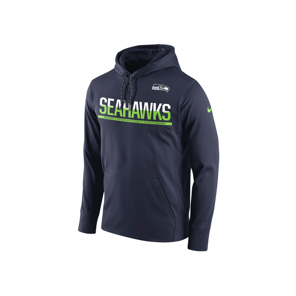 5644e63a NFL Seattle Seahawks Sideline Circuit Pullover Performance Hoodie