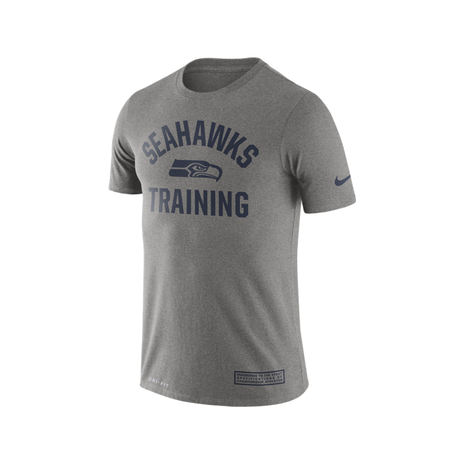 Nike NFL Seattle Seahawks Training Performance T-Shirt