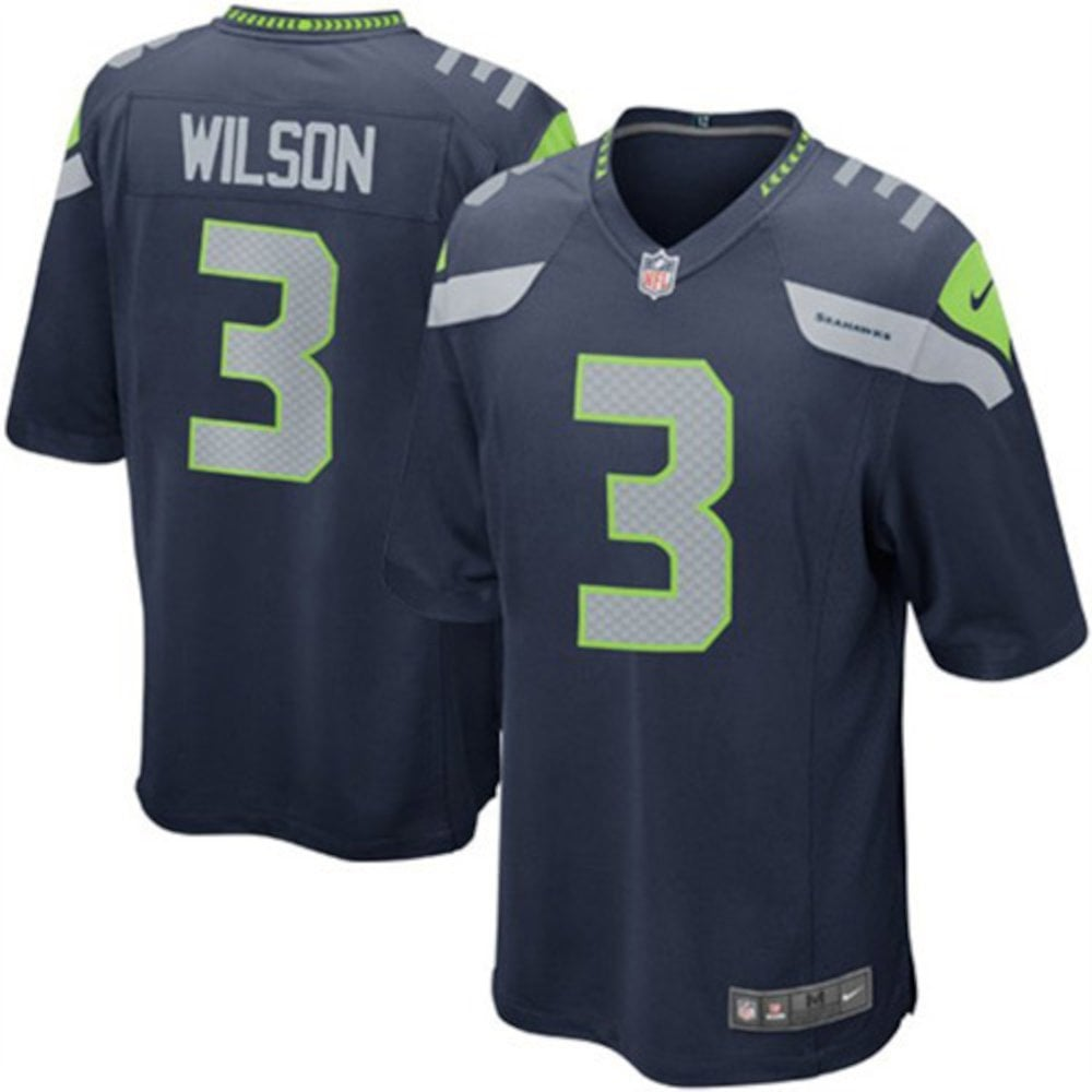 Nike NFL Seattle Seahawks Youth Home Game Jersey - Russell Wilson ... 584a8e3d3