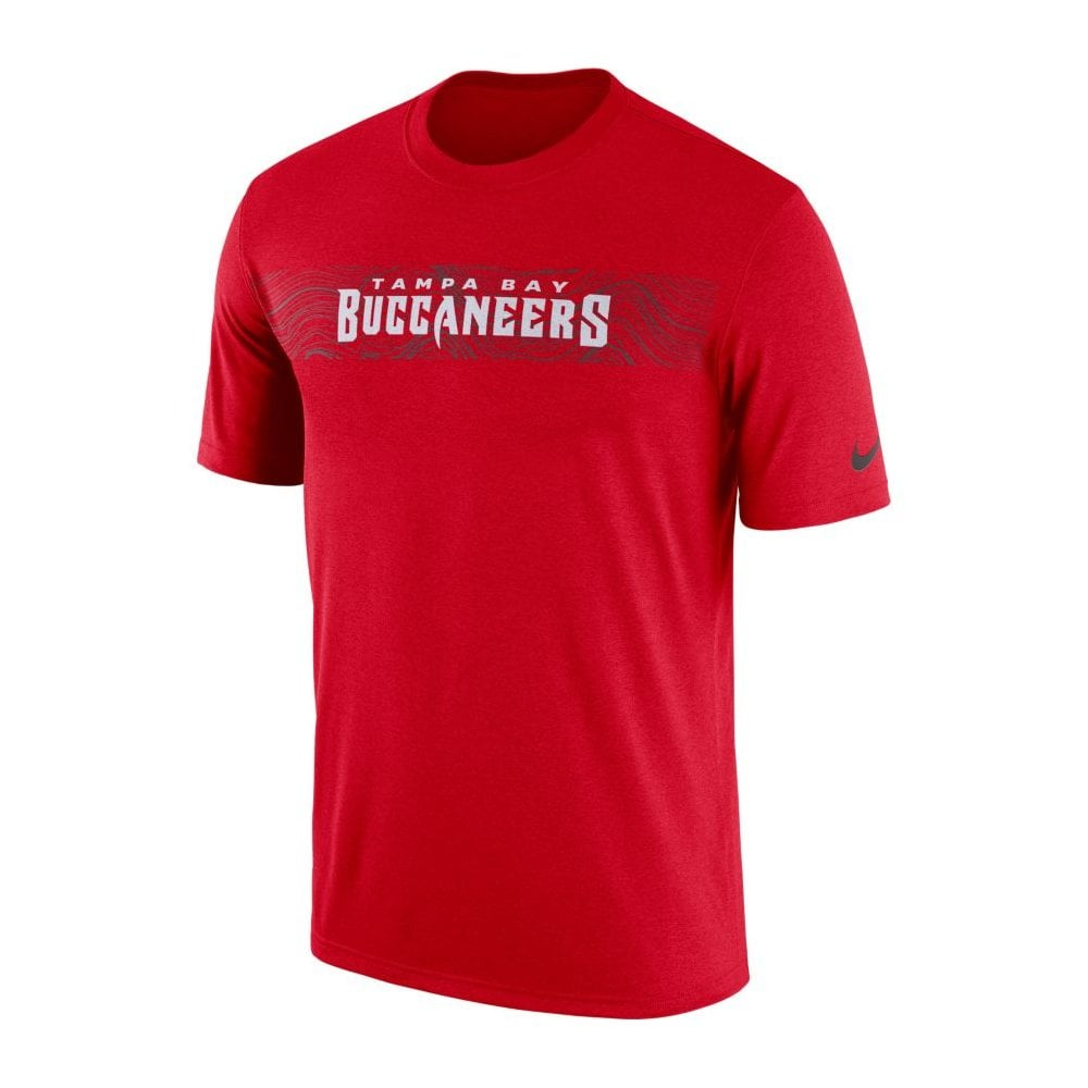 100% authentic 424c8 d0f93 Nike NFL Tampa Bay Buccaneers Sideline Seismic Legend Performance T-Shirt