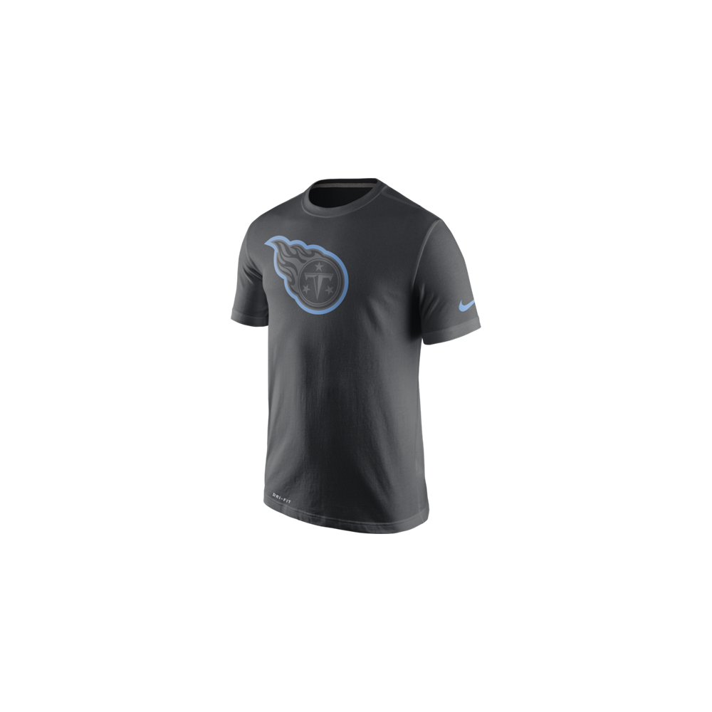 Nike NFL Tennessee Titans Anthracite Travel T-Shirt - Teams from USA ... 1ab3da59aa3