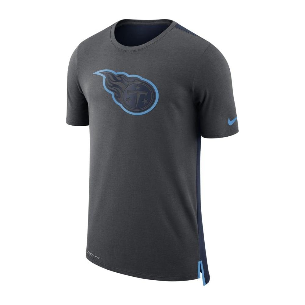 Nike NFL Tennessee Titans Travel Mesh Dri-Fit T-Shirt - Teams from ... a7df3c4fd5f