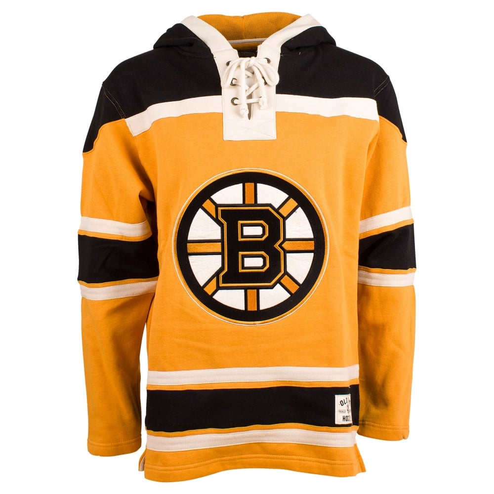 Old Time Hockey NHL Boston Bruins Alternate Lace Jersey Hood - Teams ... b13e554c3a8