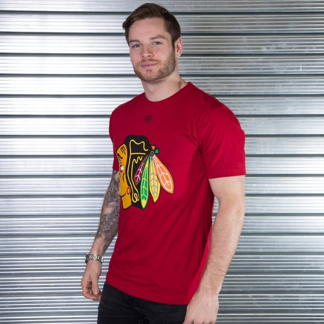 Old Time Hockey NHL Chicago Blackhawks Biggie T-Shirt