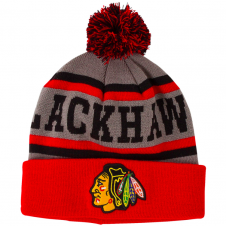 NHL Chicago Blackhawks Gravel Cuff Knit