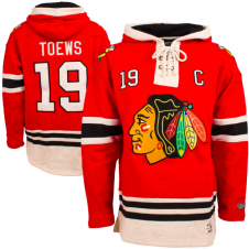 NHL Chicago Blackhawks Jonathan Toews Name & No. Lace Jersey Hood