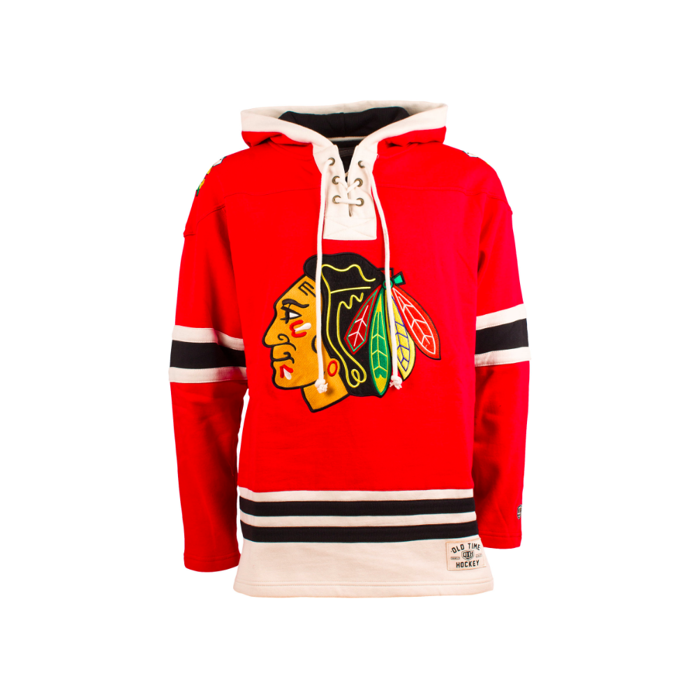 Old Time Hockey NHL Chicago Blackhawks Lacer Jersey Hood - Teams ... 480abe0b4