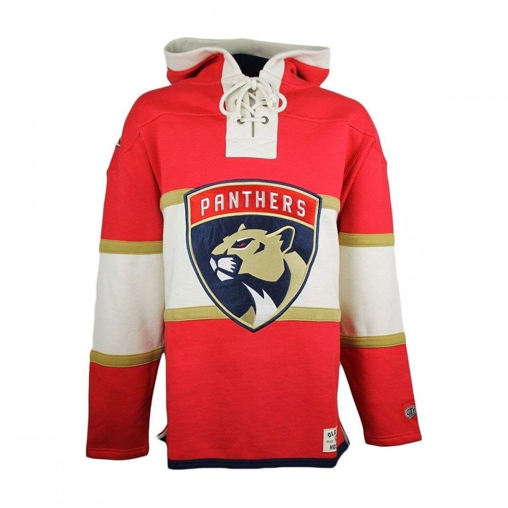 new product f6e90 7f99e NHL Florida Panthers Lace Jersey Hood