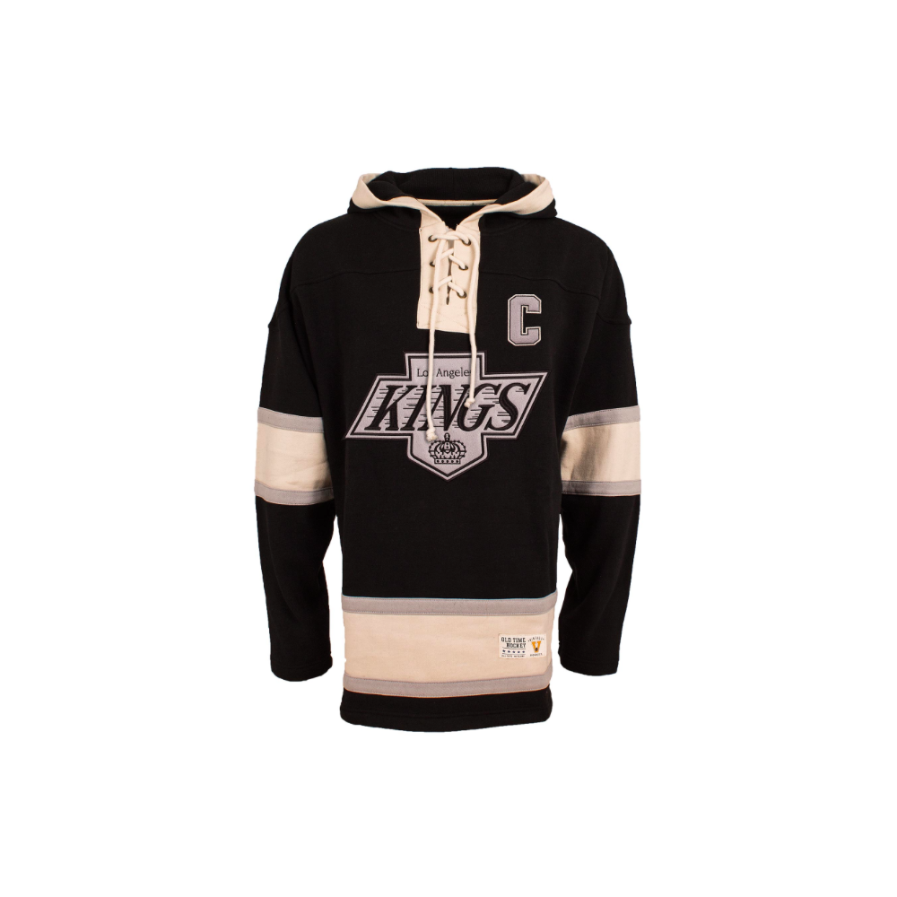 ... NHL Los Angeles Kings Wayne Gretzky Vintage Lacer Jersey Hood ... 7755b41be
