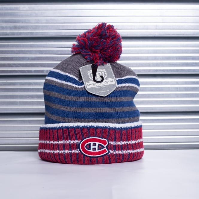 Old Time Hockey NHL Montreal Canadiens Huntley Pom Beanie Knit