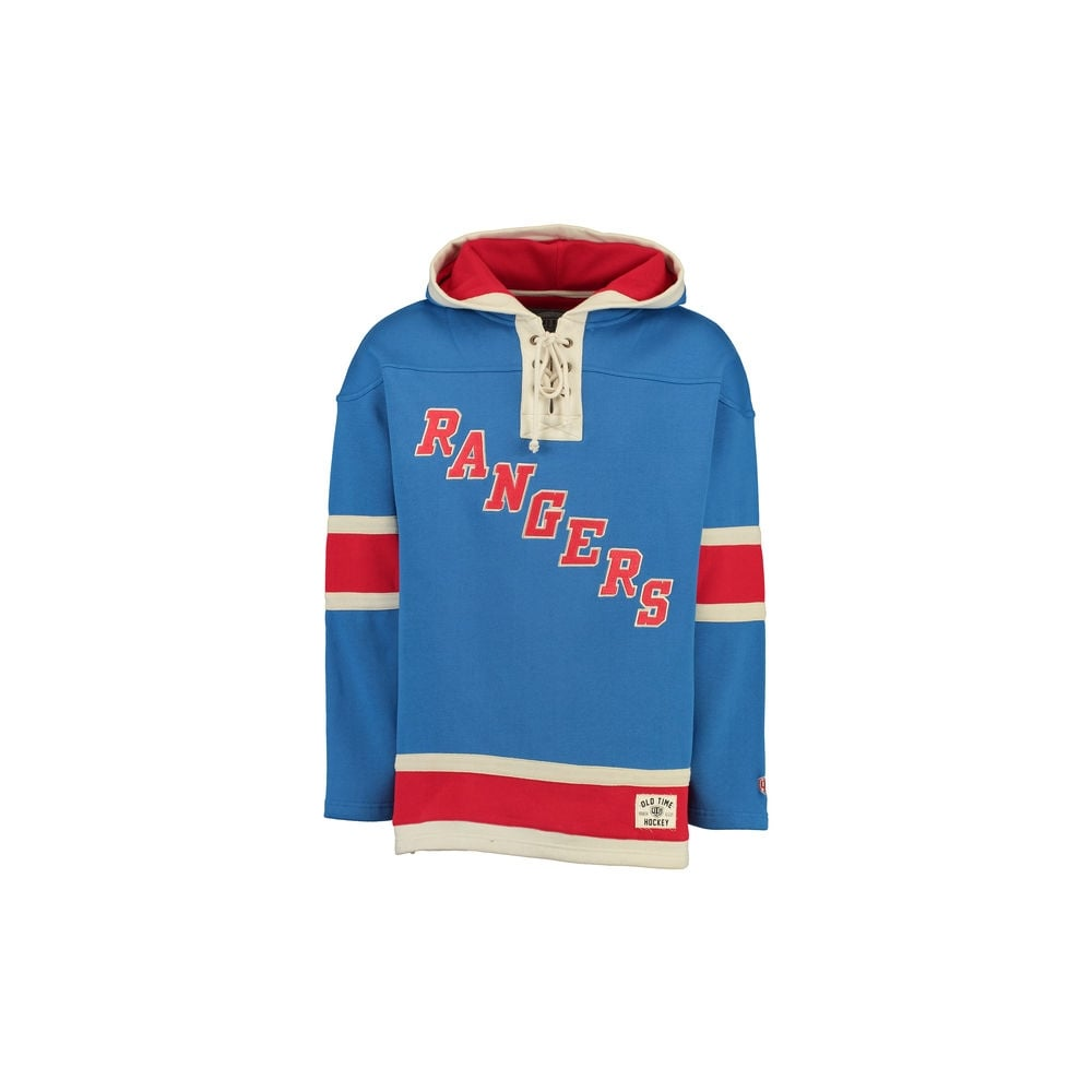 info for 20ecb 81256 NHL New York Rangers Lacer Jersey Hood