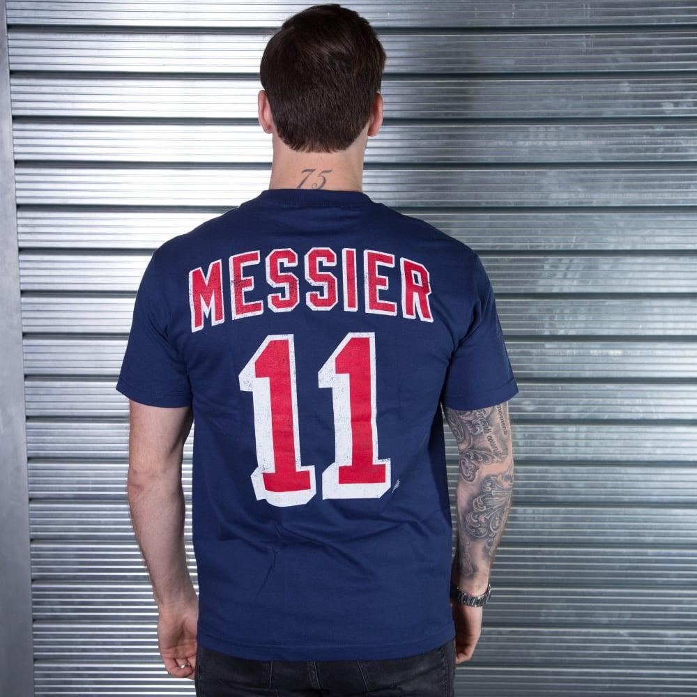 reputable site 39c84 a6bc6 NHL New York Rangers Mark Messier Alumni Player T-Shirt