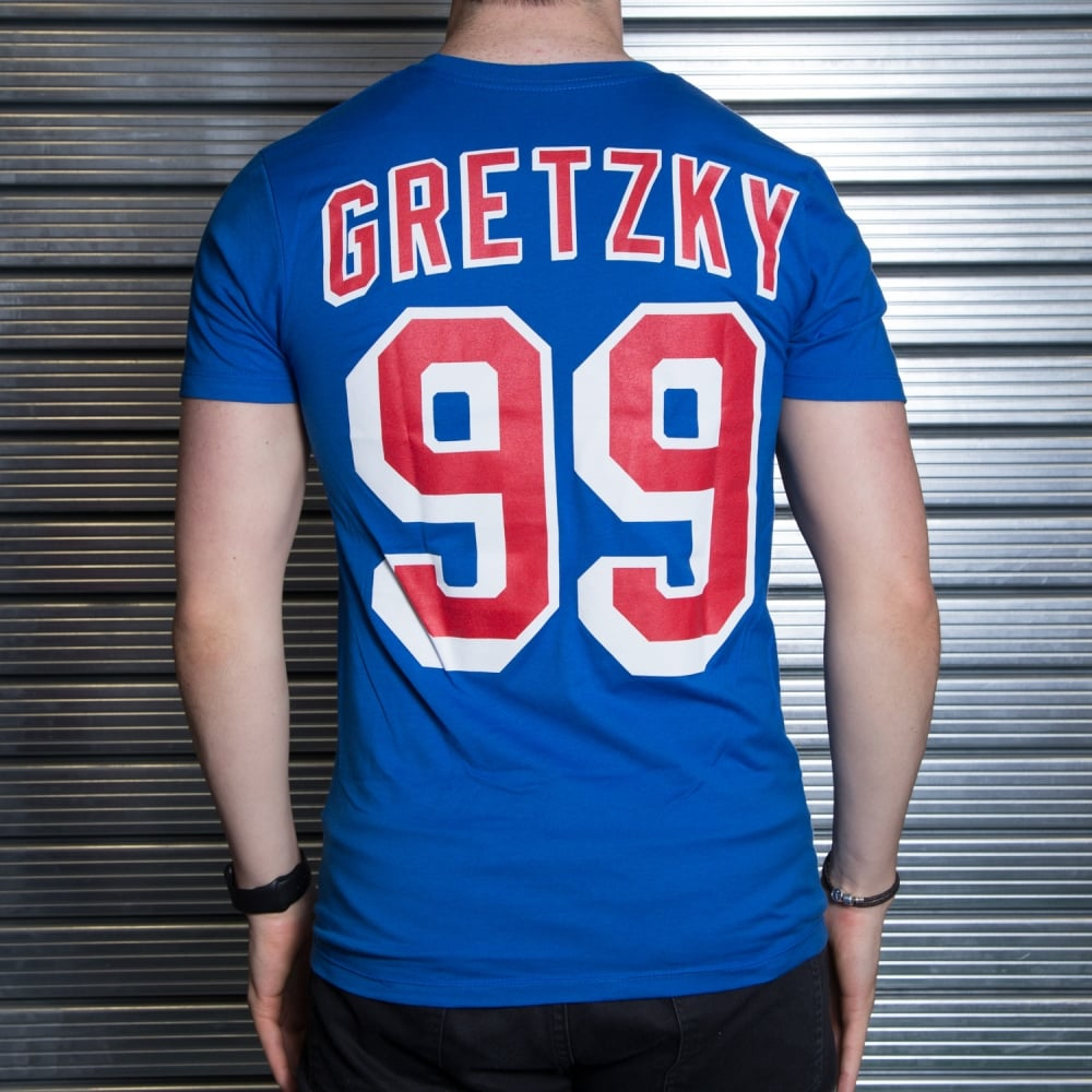 new product 4ab91 a2497 NHL New York Rangers Wayne Gretzky Player T-Shirt