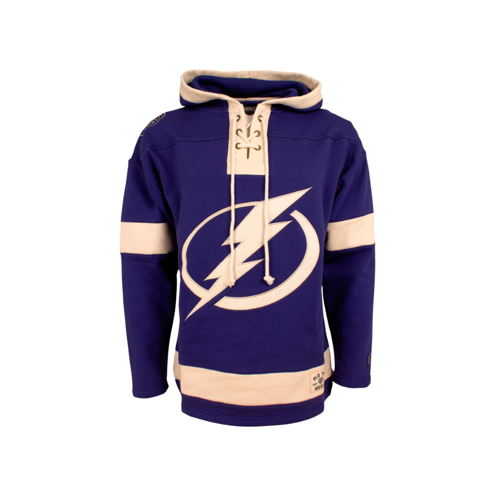 new arrival 5cfe2 c593f NHL Tampa Bay Lightning Lacer Jersey Hood