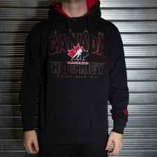NHL Team Canada Blackops Fleece Hood