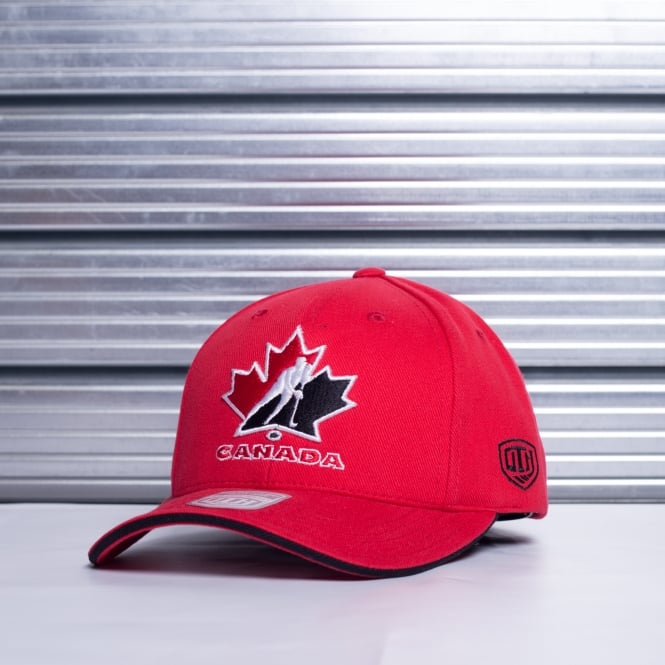 Old Time Hockey NHL Team Canada Red Adjustable Cap