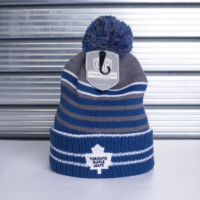 Old Time Hockey NHL Toronto Maple Leafs Huntley Pom Beanie Knit