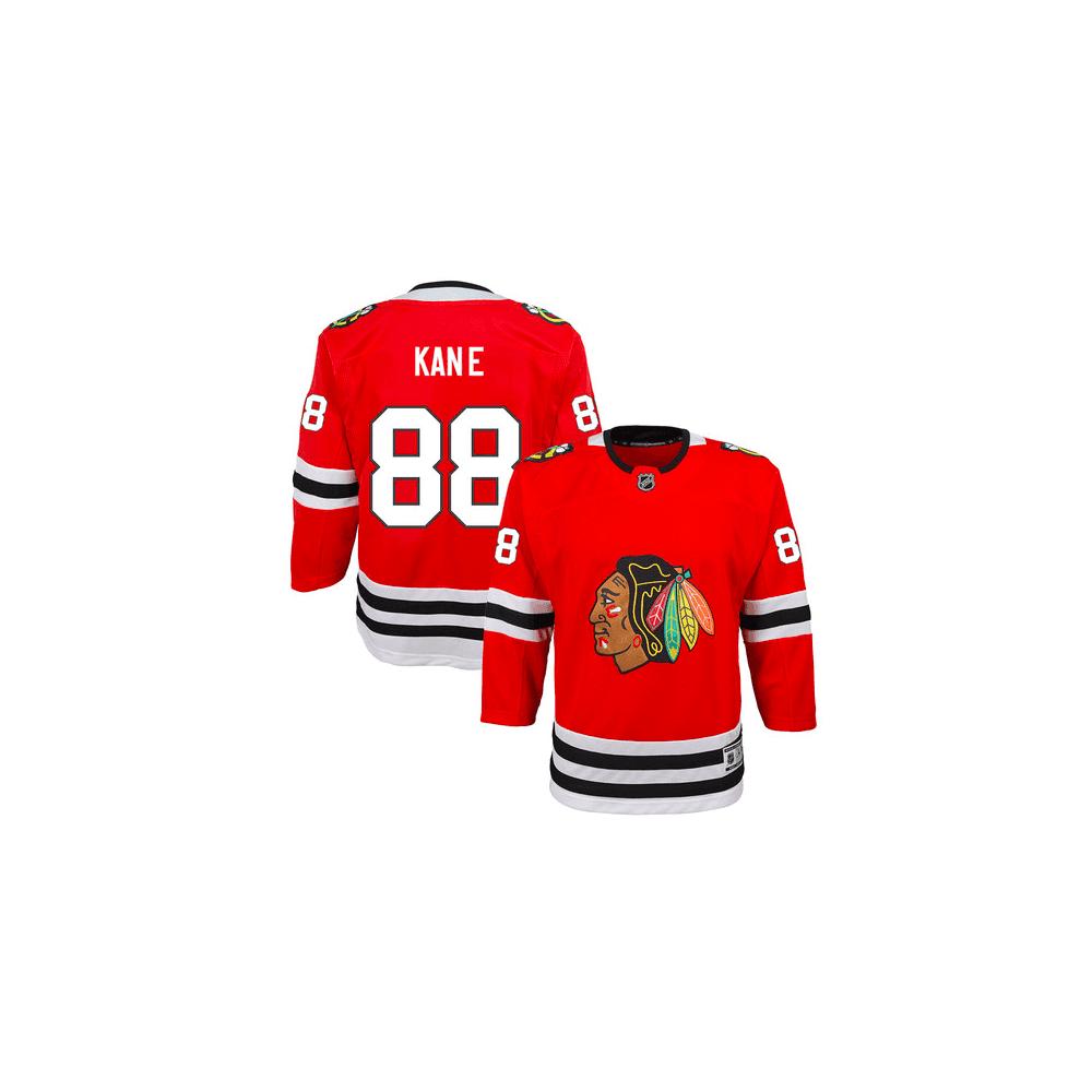 Outerstuff NHL Chicago Blackhawks Patrick Kane Home Youth Jersey ... e43838fba