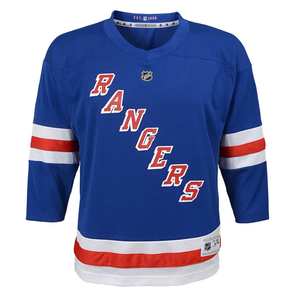 size 40 cac42 81a46 NHL New York Rangers Replica Youth Home Jersey