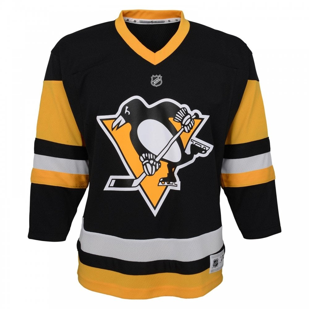 low priced f84a1 42f53 NHL Pittsburgh Penguins Replica Youth Home Jersey