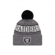 NFL Oakland Raiders 2018 Sideline Graphite Sport Knit