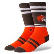 NFL Cleveland Browns Logo Socks