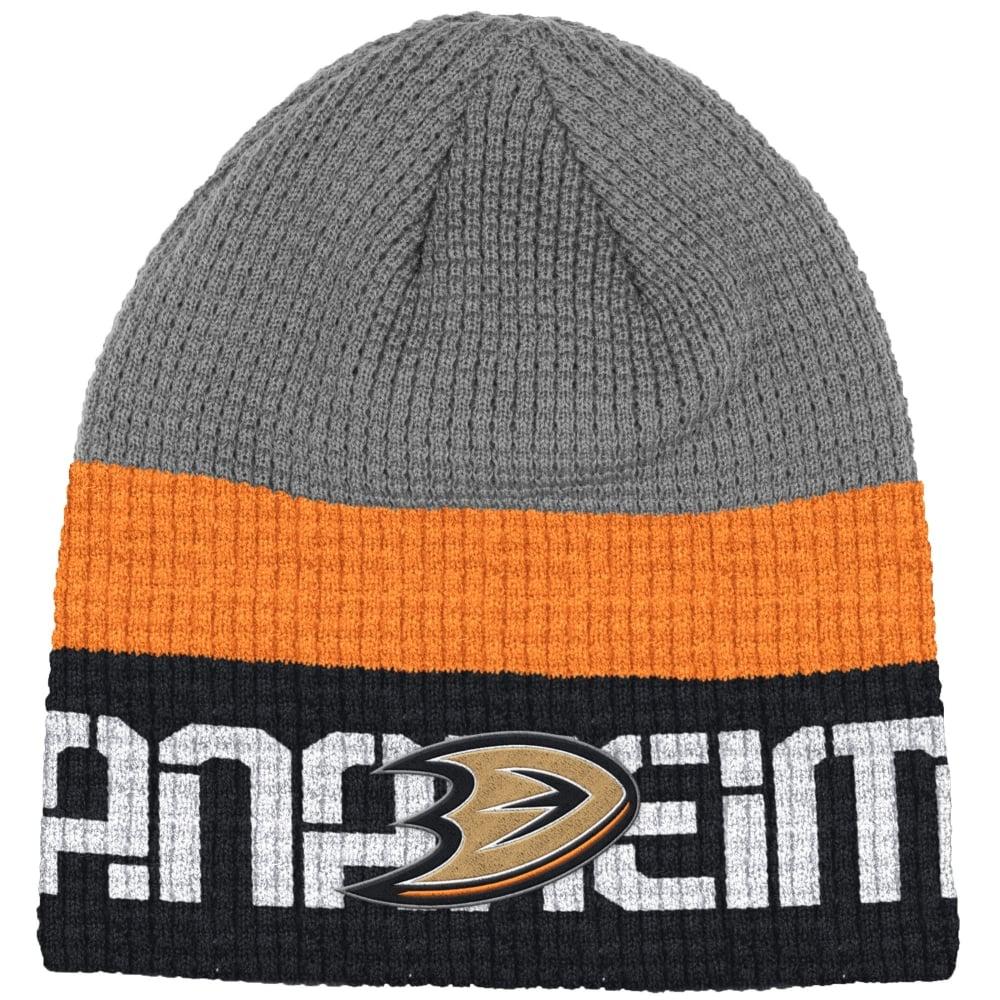 reputable site 34a9f 06dfa NHL Anaheim Ducks Center Ice Beanie Knit