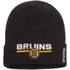 NHL Boston Bruins Center Ice Locker Room Cuffed Knit