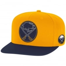 NHL Buffalo Sabres Face Off Two Tone Snapback Cap