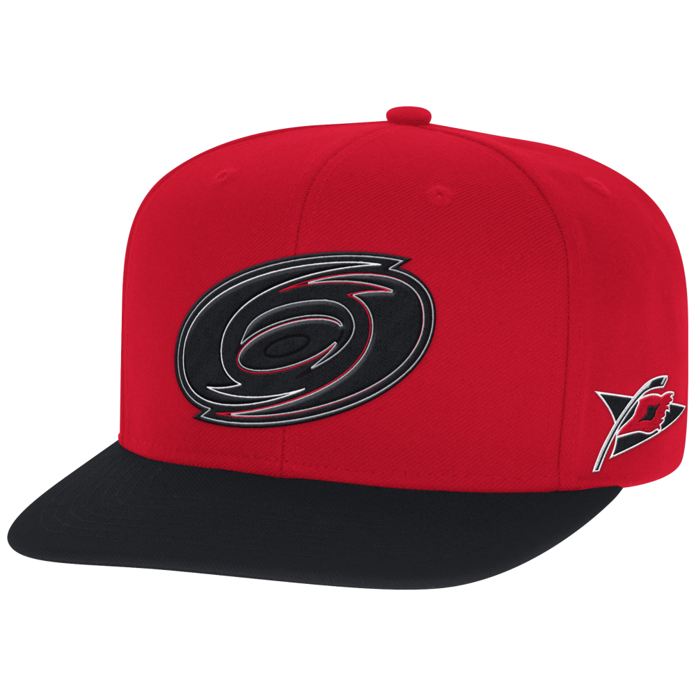 Reebok NHL Carolina Hurricanes Face Off Two Tone Snapback Cap ... 22cbe060b76