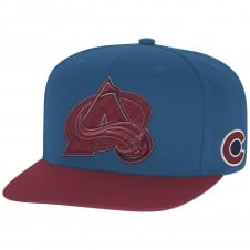 NHL Colorado Avalanche Face Off Two Tone Snapback Cap