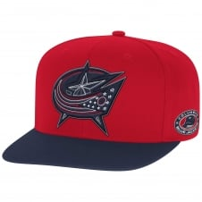 NHL Columbus Blue Jackets Face Off Two Tone Snapback Cap